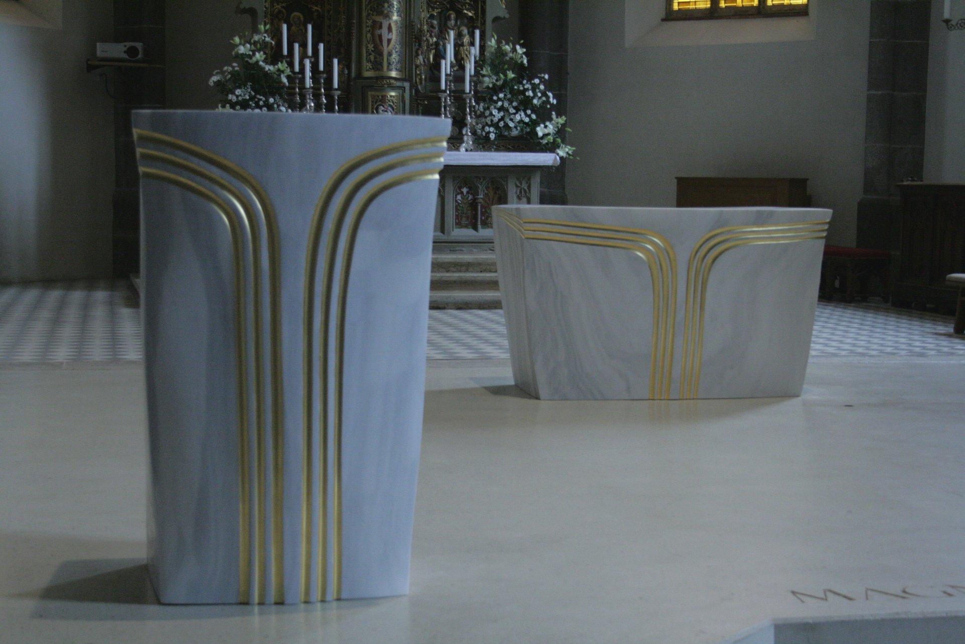 Gasser Markus - Altar und Ambo 2